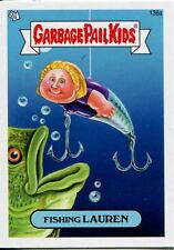 Garbage Pail Kids Mini Cards 2013 Base Card 136a Fishing LAUREN