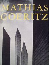 MATHIAS GOERITZ. 1963. Mexican Art Book