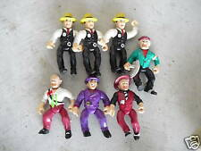 Lot of 7 1990s Dick Tracy Action Figures Look