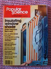Popular Science Jan. 1979, solar attic house, insulating window shades, skylab