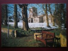 POSTCARD B9 BUCKINGHAMSHIRE HOLY TRINITY CHURCH BLEDLOW IN WINTER