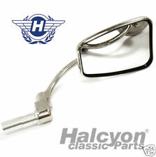 Halcyon Bar End Motorcycle Mirror - 100% British Made!