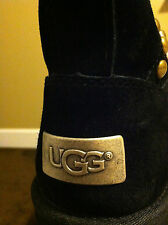 New Authentic Women's Black UGG Australia Avondale Apres Boots Size 5