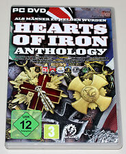 HEARTS OF IRON ANTHOLOGY - HOI II & DOOMSDAY & ARMAGEDDON - PC DVD - NEUWERTIG