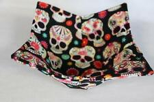 New Quilted Microwave Bowl Holder Bowl Cozy Bowl Potholder Sugar Skulls