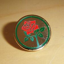 LANCASHIRE RED ROSE CRICKET ENAMEL PIN BADGE