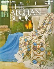 The Afghan Book Vintage Crochet & Knitting Instruction Patterns Leisure Arts #63
