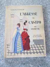 Stendhal L'Abbesse de Castro Aquarelles de RO KEEZER