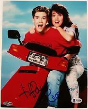 Tiffani Thiessen Signed 8x10 Photo #3 Kelly Kapowski Auto w/ Beckett BAS COA