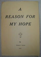 Herman Gower - A Reason For My Hope - 1963 Church of Christ - Albuquerque, NM