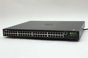 Dell N2048P N2000 48-Port PoE+ Gigabit Ethernet Network Switch 2xSFP+ 10GbE