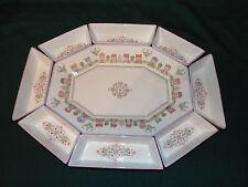 Lenox Spice Village Rare Nine (9) Piece Serving Platter and Side Dishes