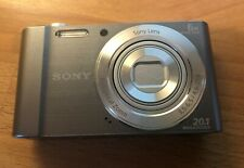Sony Cyber-shot DSC-W810 20.1MP Digital Still Camera (open box, never used)