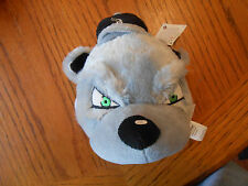 """Chicago White Sox Gray Plush 7"""" New Stuffed Animal Forever Collectibles-NWT"""