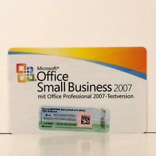 MICROSOFT OFFICE 2007 SMALL BUSINESS SBE VOLLVERSION MLK V2 - NETTO NUR € 15.-