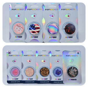 PopSockets Phone Swappable Pop Grip & Stand for iPhone Galaxy Smartphone Tablets