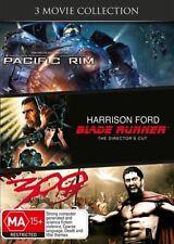 Pacific Rim / Blade Runner / 300 (DVD, 2014, 3-Disc Set)