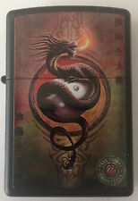 Zippo Windproof Anne Stokes Mythological Dragon Lighter 46835, New In Box