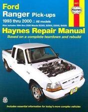Ford Ranger & Mazda B-Series Pick-Ups Automotive Repair Manual: All Ford Ranger