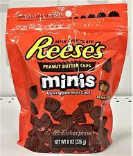 Reese's Unwrapped Mini Peanut Butter Cups 8 oz Reeses