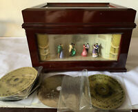 GOLD LABEL COLLECTIONS MR. CHRISTMAS DELUXE SYMPHONIUM WITH bells With 9 Discs