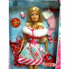 NEW Barbie Happy Holidays Xmas Doll 2011 Target Exclusive V8930 Sealed Gift Idea