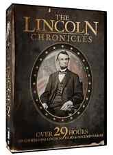 "10-DVD ""The Lincoln Chronicles"" NEW 29-hour epic Civil War set, Docu-dramas"