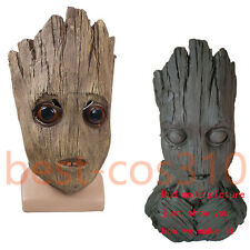 2017 Guardians of the Galaxy Vol 2 Mask Cosplay Baby Groot Mask Halloween Masks
