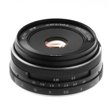 MEIKE 28mm f/2.8 Pancake Lens for Olympus / Panasonic Micro 4/3 Digital Cameras