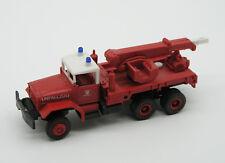 Feuerwehr-Modell: Abschleppfahrzeug der US Flughafenfeuerwehr (Roco), 1:87