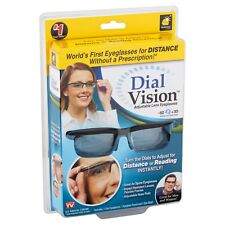 Dial Vision Adjustable Lens Eyeglasses From -6d to 3d Power As Seen On TV