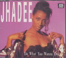 Jhadee - Do What You Wanna Do ° Maxi-Single-CD von 1993 ° WIE NEU °