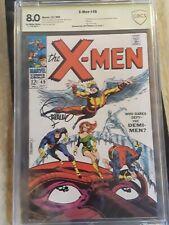 X-Men #49 CBCS (like cgc) 8.0 SS Signed Jim Steranko ow/w | 1st App Polaris 1968