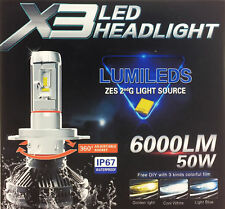 H7 50W Philips Lumileds LED Lampen Paar 6K Canbus Subaru Tribeca 2005-onwards