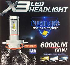 H7 50W Philips Lumileds LED Lampen Paar 6K Canbus BMW 5er E39 1997-2004