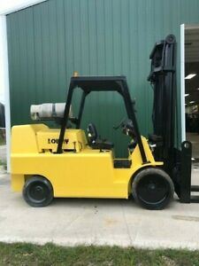 2004 Lowry L180XDS 18000# Cushion Tire LP Forklift  **Great Die Truck **