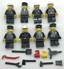 LEGO 50 MINIFIGURES TOWN CITY BOY GIRL TOWN PEOPLE POLICE FIREMEN SET MORE