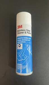 NEW 3M 14002 Stainless Steel Cleaner and Polish 21 oz.