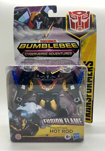 Transformers STEALTH FORCE HOT ROD FIGURE BUMBLEBEE CYBERVERSE ADVENTURES FUSION