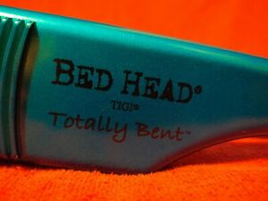 """Bed Head Totally Bent  2"""" Inch Hair Crimper Chrome Blue Model No BH307"""