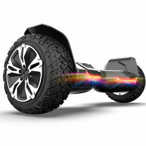 8.5 inch All Terrain Hoverboard Bluetooth Self Balancing Board Off Road Scooter