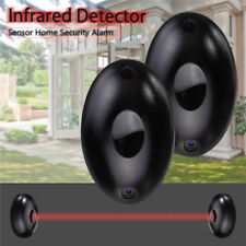 2 X Alarm Photoelectric Beam Infrared IR Detector Home Safety System Door 12-24V