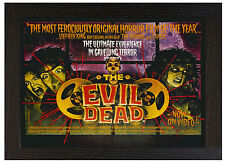A3 Framed Poster The Evil Dead Picture