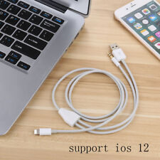 8pin to 3.5mm Audio and USB Charging Cable For iPhone XS XR X 8 7 plus