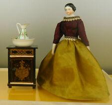 Sehr schönes BOULLE NACHTKÄSTCHEN um 1870 für die Puppenstube