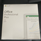 Microsoft Office 2019 Professional Plus For Windows PC Sealed DVD Authentic NEW