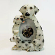 Dalmatian Dog Table Photo Frame 2 x 3 Picture. Polyresin with Easel Back Nib