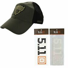 5.11 Tactical Tundra Cap + Decal Sticker Hat Special Kit Gift Bundle Set Unisex