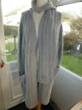 GEORGE LONG CARDIGAN AND SCARF SIZE 24