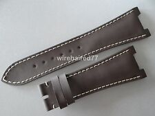 Patek Philippe Nautilus 25mm Brown Silicone Rubber Strap